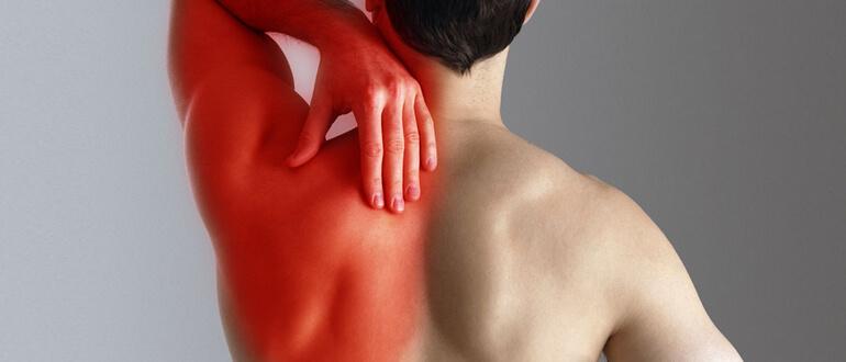 Боль в позвоночнике отдает в левое плечо