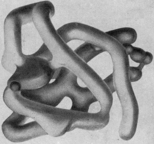 Пятна на рентгенограммах кристаллов белков