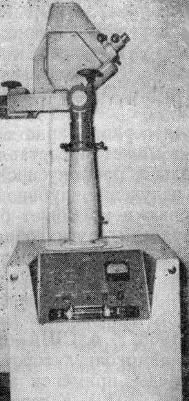 Первый советский лазерный офтальмокоагулятор ОК-1