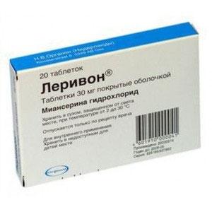 Обзор антидепрессантов - Миртазапин, Венлафаксин, Леривон