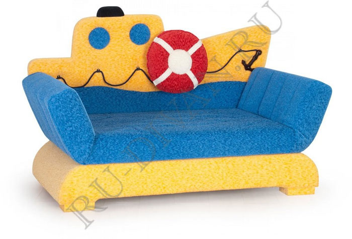 Здоровый взгляд на выбор дивана для детской комнаты