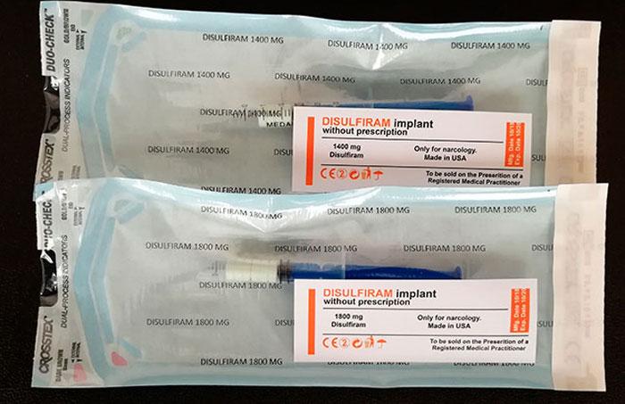Противоалкогольные импланты
